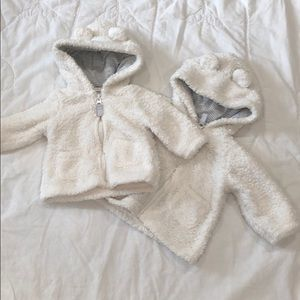 Carter's Fuzzy Hooded Jacket